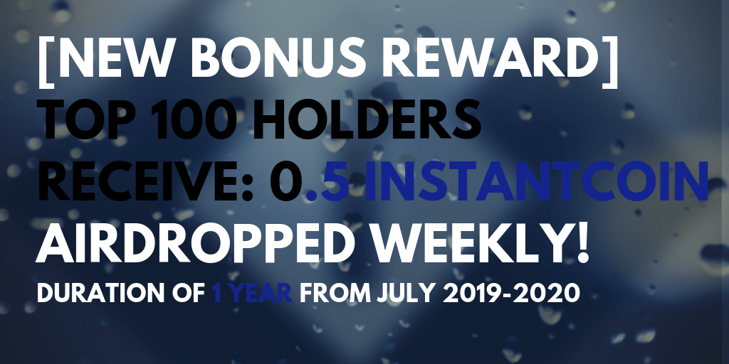 [ENDED!] TOP 100 TOKEN HOLDERS REWARDS INFO